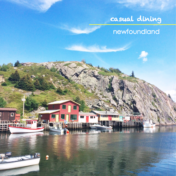 Eat in Newfoundland